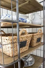 What Do You Put On A Bakers Rack Decorative Baskets Inspiration For Using Them In Your Home