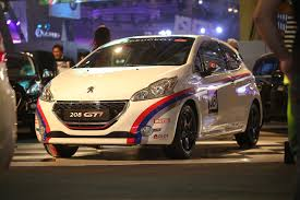 peugeot 208 gti 2016 peugeot brings unparalleled driving sensations at the 2016 pims