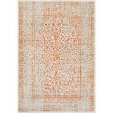 Home Depot Wool Area Rugs Orange Surya Area Rugs Rugs The Home Depot