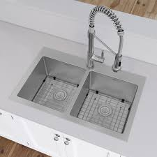 Ancona Prestige Series Stainless Steel  X  Dropin Kitchen - Drop in kitchen sinks