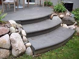 Concrete Backyard Patio by Top 25 Best Concrete Steps Ideas On Pinterest Garden Steps