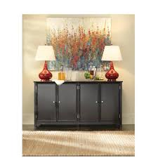 american home decorators home decorators collection oxford black storage console table