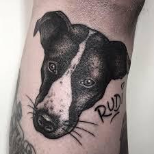 terrier tattoo tragic kingdom tattoo tätowierer in mannheim