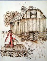 Wood Burning Patterns For Beginners Free by Wood Burning Patterns Free Farm Scene Pattern Package By Lora S