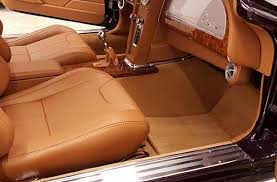 Vehicle Leather Upholstery Bux Customs Custom Rod Interiors