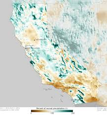 california drought map january 2016 rains return to california to start 2016 noaa climate gov