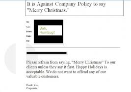 my told me that i am not allowed to say merry to
