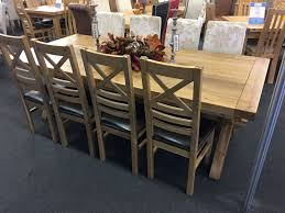 provence dining table for sale provence solid oak extra large extending dining table oak