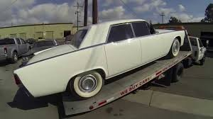 1964 Lincoln Continental Interior 1964 Lincoln Continental Kustom Youtube