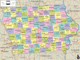 Map Of Usa With Highways by Iowa Highways Map
