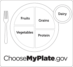 Hand Washing Coloring Sheet - myplate coloring page for my plate itgod me