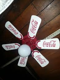 1997 coca cola ceiling fan coca cola ceiling fan take any fan repaint the blades and all