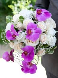 wedding flowers orchids wedding bouquet bouquet of fresh flowers orchids and roses for