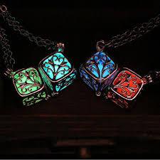 steampunk pendant necklace images Steampunk pretty magic round fairy locket glow in the dark pendant jpg
