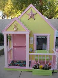 Backyard Play Houses by 64 Best Playhouses Images On Pinterest Playhouse Ideas