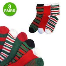 fuzzy christmas socks 3 pairs christmas fuzzy socks 3 99 free shipping kroger couponing