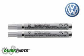 genuine volkswagen carbon steel metallic touch up paint code la9w