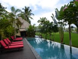 Infinity Pool Backyard by Welcome To Bali Harmony Villa