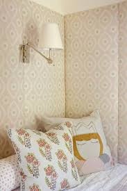 Padded Walls Pink Padded Bed Nook Walls Transitional S Room
