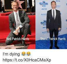 25 best memes about stand patrick harris stand patrick
