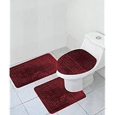 Ultra Thin Bath Mat Amazon Com 3 Piece Bath Rug Set Pattern Bathroom Rug 20