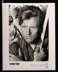 Rutger Hauer Blind Fury Emovieposter Com Auction History