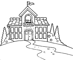coloring building coloring pages