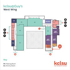West Wing Floor Plan Find Us U2013 Kcl Dance Society