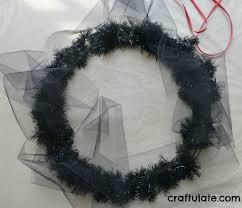 Halloween Tulle Wreath by Eye Halloween Wreath