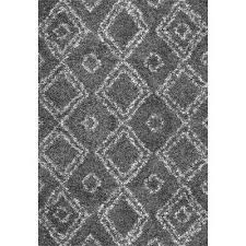 Black And Gray Area Rug Nuloom Area Rugs Rugs The Home Depot