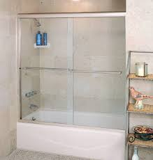 Glass Doors For Tub Shower Semi Frameless Sliding Doors For Tubs Shower Power Pinterest