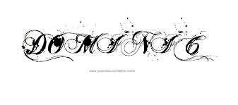 name style design dominic name tattoo designs tattoo designs and tattoo