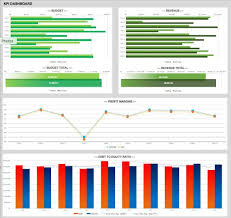Excel Template Dashboard 21 Best Kpi Dashboard Excel Template Sles For Free