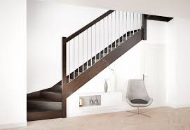 Quarter Turn Stairs Design Quarter Turn Staircase Wooden Steps Wooden Frame Without