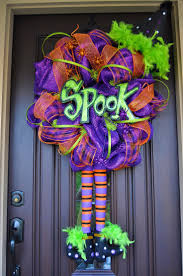 Halloween Wreath Ideas by 271 Best Fall Halloween Wreaths Swags Images On Pinterest