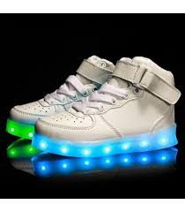 led light up shoes for adults high top led light up shoes for women white lighting shoes