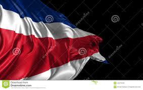 Costarica Flag Flagge Costa Rica Stock Video Bild Von Flüssigkeit Taste 43279453