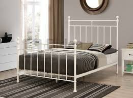 birlea sophia 3ft single cream metal bed frame by birlea