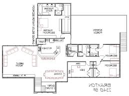 split level house plan home design split level house plans with attached garage