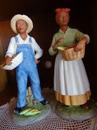 home interiors figurines pair of homco fireman policeman bears figurines 8805 home