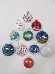 paint your own glass ornaments visarts