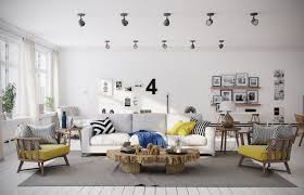 Nordic Interior Design by Decorations Blue And Yellow Scandinavian Interior Design Idea