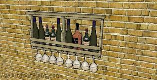 diy wine cabinet plans diy wine rack plans myoutdoorplans free woodworking plans and