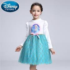 frozen costume disney frozen dress princess girl kids baby clothing fever