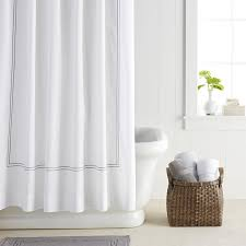 White On White Shower Curtain 10 Stylish Shower Curtains For A Modern Bathroom 10 Stunning Homes