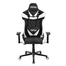techni sport ergonomic high back gaming desk chair techni sport tsxl1 white gaming chair chs chairs