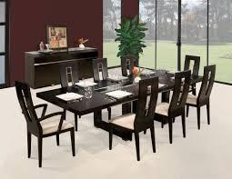 sharelle furnishings novo 9 piece dining set u0026 reviews wayfair