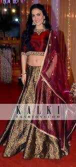 engagement lengha pin by kalkifashion on style check