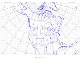 America Longitude And Latitude Map by On388 Grib Table B Grid Identification