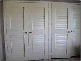White Shutter Closet Doors Louvered Closet Doors White Home Designs Insight Custom